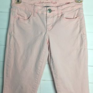 American Eagle Pink Stretch Jeggings